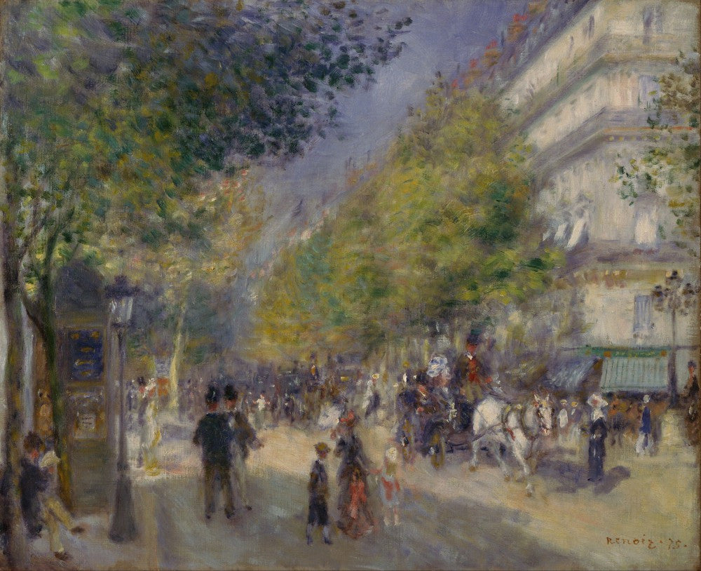 The Museum Outlet - Grande Boulevards by Renoir