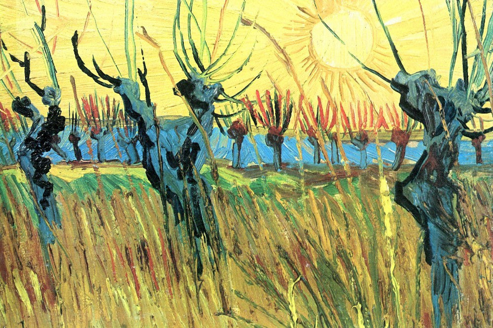 The Museum Outlet - Grazing at sunset by Van Gogh
