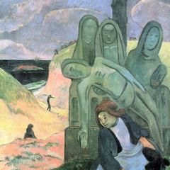 The Museum Outlet - Green Christ by Gauguin
