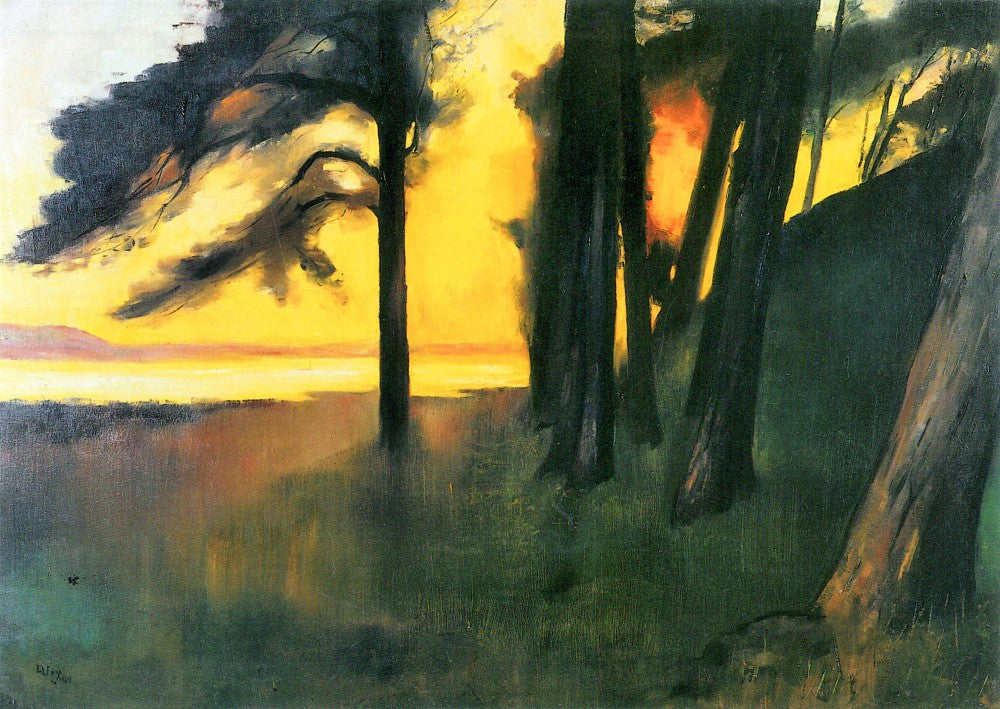 100% Hand Painted Oil on Canvas - Grunewald by Lesser Ury
