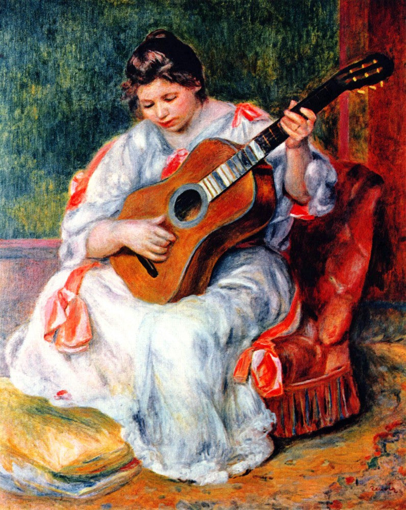 The Museum Outlet - Guitarist by Renoir