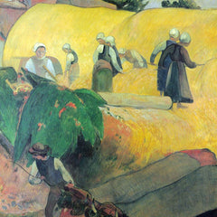 The Museum Outlet - Harvest In Brittany by Gauguin