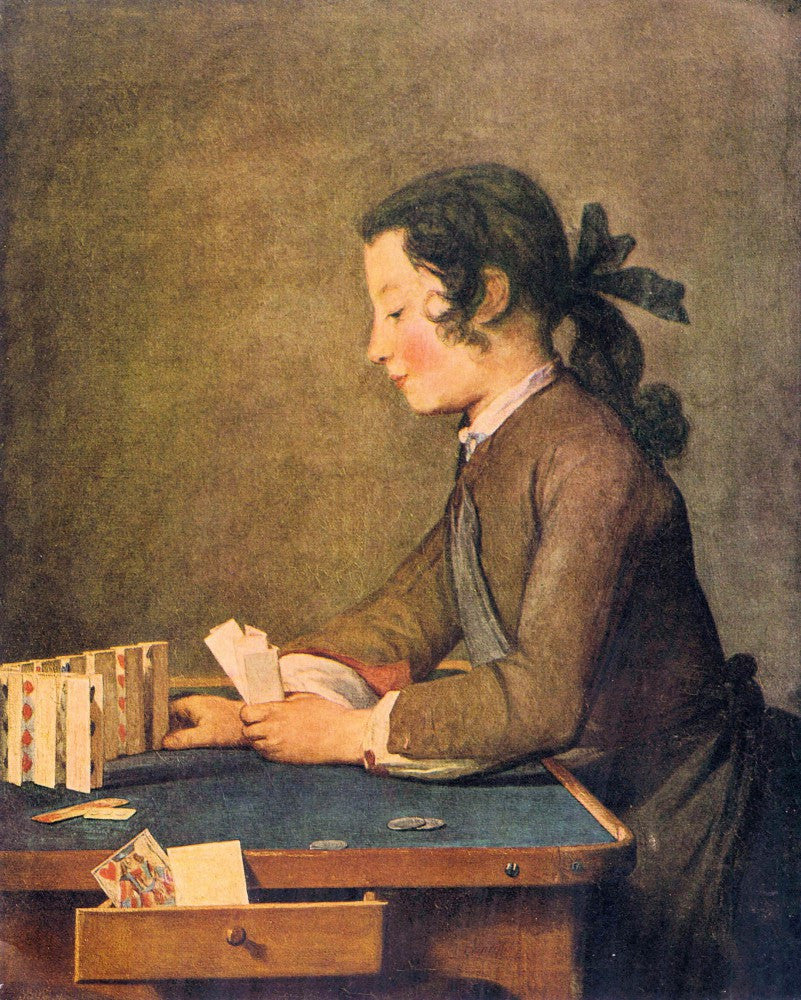 The Museum Outlet - House of Cards by Jean Chardin