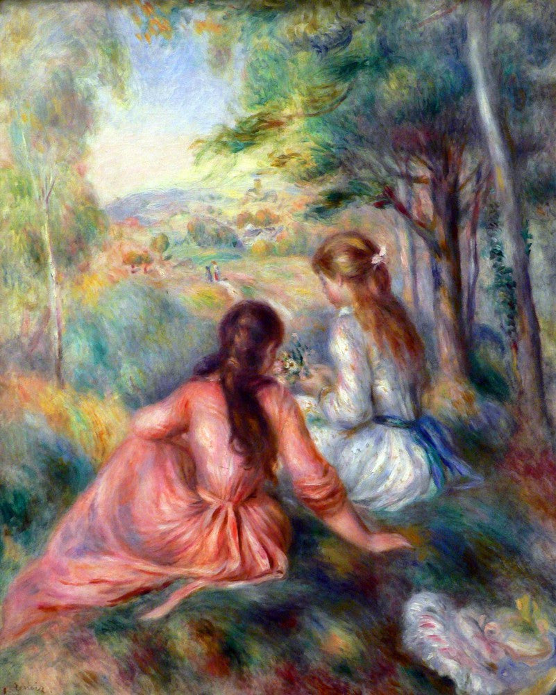 The Museum Outlet - In the meadow by Renoir