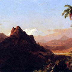 The Museum Outlet - In the tropics by Frederick Edwin Church