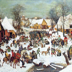 The Museum Outlet - Infanticide in Bethlehem by Pieter Bruegel