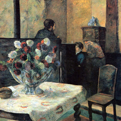 The Museum Outlet - Interior of Painter of Rue Carcel by Gauguin