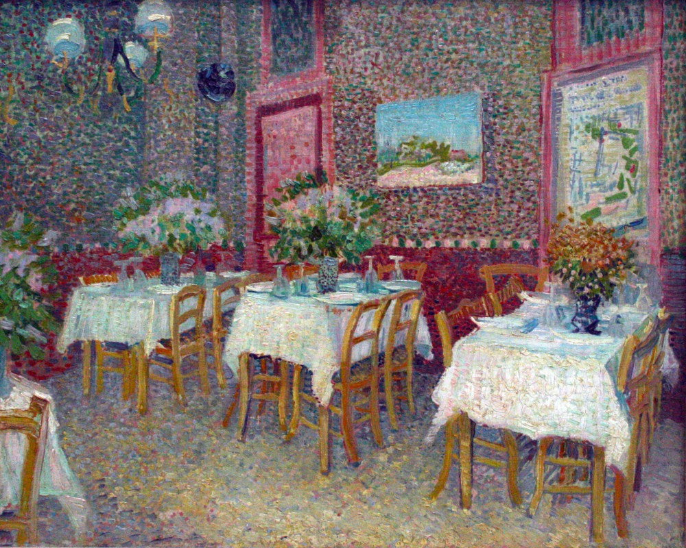 The Museum Outlet - Interior of a Restaurant by Van Gogh
