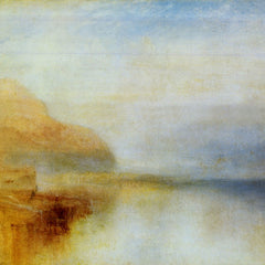 100% Hand Painted Oil on Canvas - Inverarry Pier by Joseph Mallord Turner