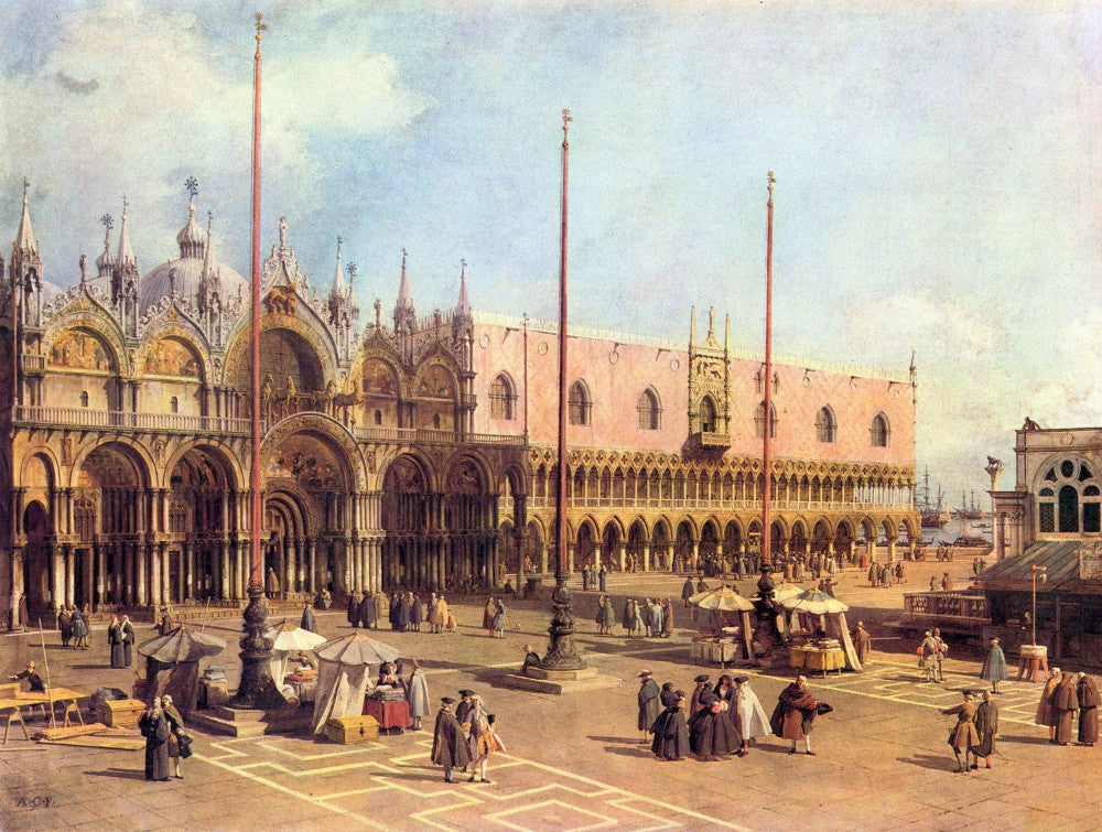 The Museum Outlet - La Piazza San Marco by Canaletto