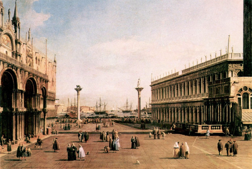 The Museum Outlet - La Piazza by Canaletto