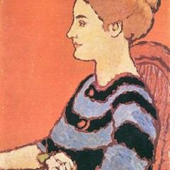 The Museum Outlet - Lady in Blue by Joseph Rippl-Ronai