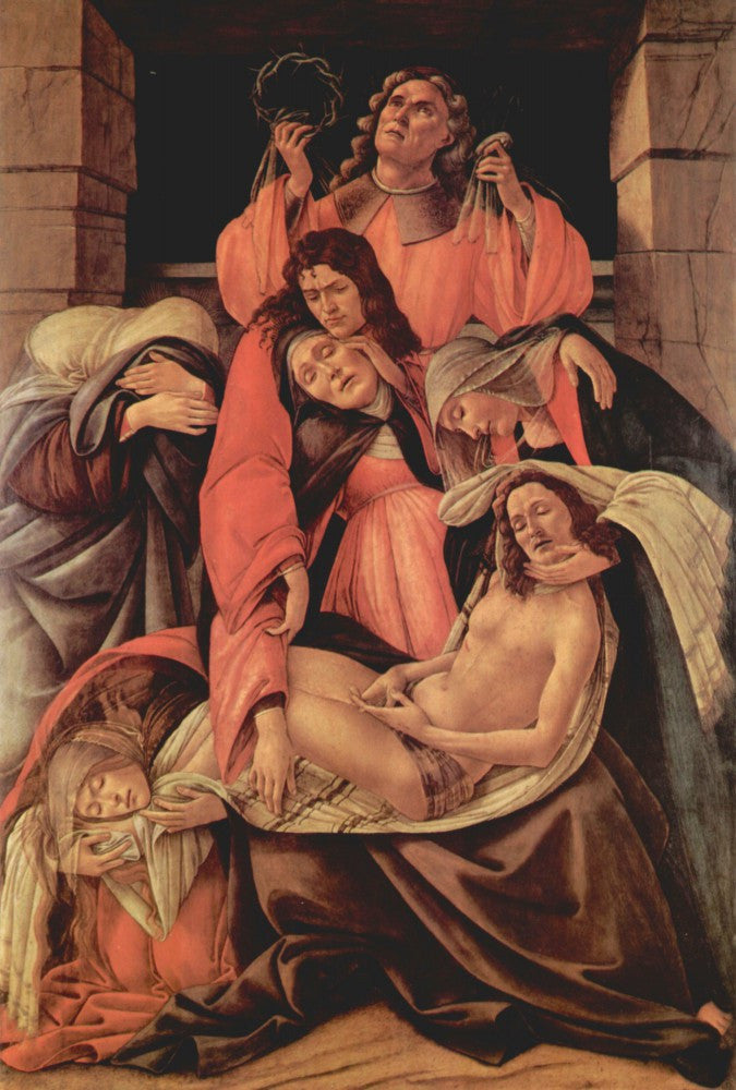 The Museum Outlet - Lamentation of Christ [1] by Botticelli