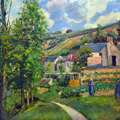 100% Hand Painted Oil on Canvas - Landscape at Pontoise by Pissarro