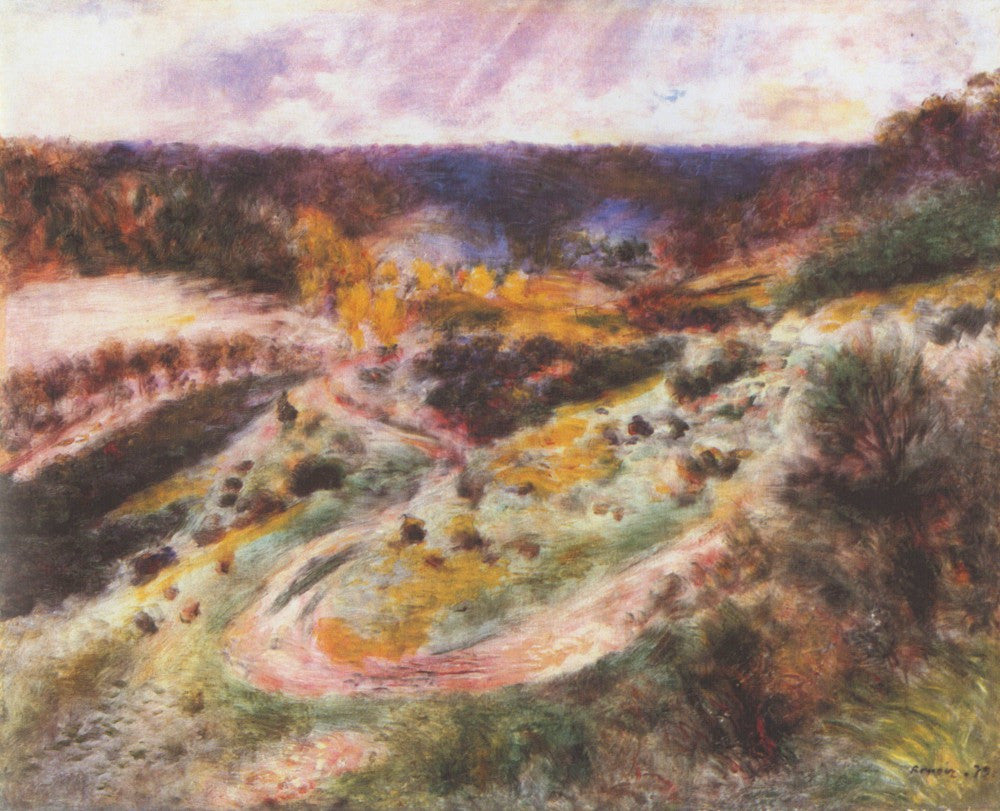 The Museum Outlet - Landscape in Wargemont by Renoir