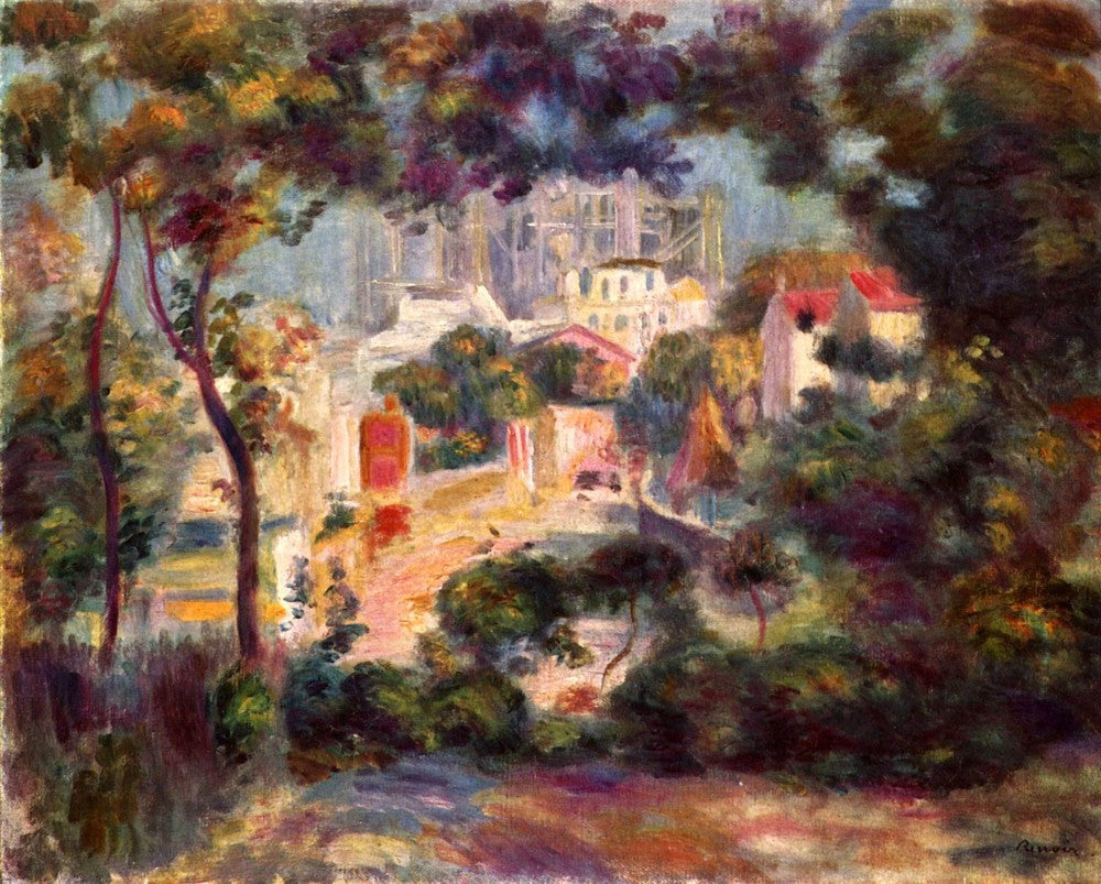 The Museum Outlet - Landscape with the view of Sacre Coeur