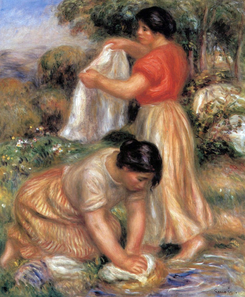 The Museum Outlet - Laundresses #2 by Renoir