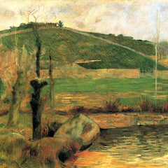 The Museum Outlet - Look at Sainte Margueritte near Pont-Avon by Gauguin