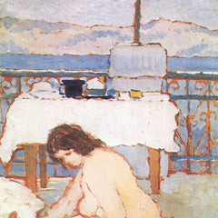 The Museum Outlet - Love on the Terrace by Joseph Rippl-Ronai