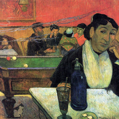 The Museum Outlet - Madame Ginoux in Cafe by Gauguin