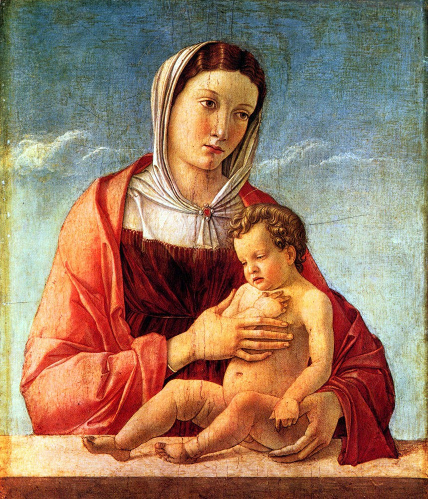The Museum Outlet - Madonna 2 by Bellini