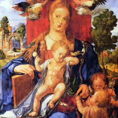 The Museum Outlet - Madonna by Durer