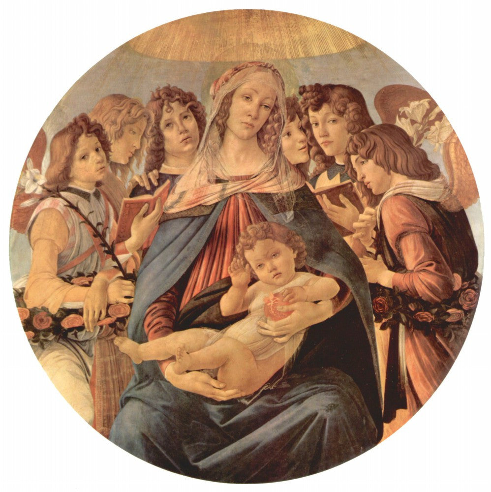The Museum Outlet - Madonna della Melagrana by Botticelli