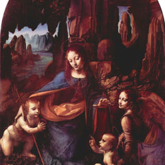 The Museum Outlet - Madonna in the rock cave by Da Vinci