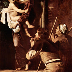 The Museum Outlet - Madonna of the Pilgrims by Caravaggio