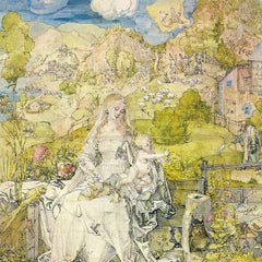 The Museum Outlet - Madonna with the many animals by Durer