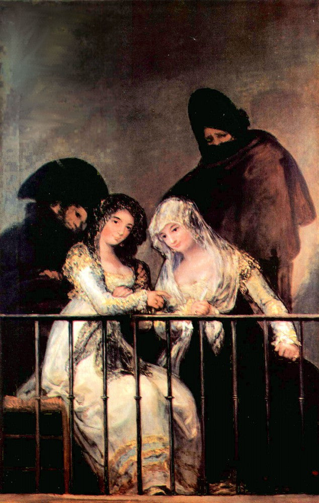 The Museum Outlet - Majas on a Balcony by Goya