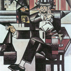 The Museum Outlet - Man in Cafe [1] by Juan Gris