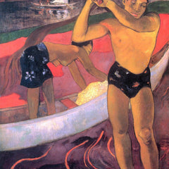 The Museum Outlet - Man with Ax by Gauguin
