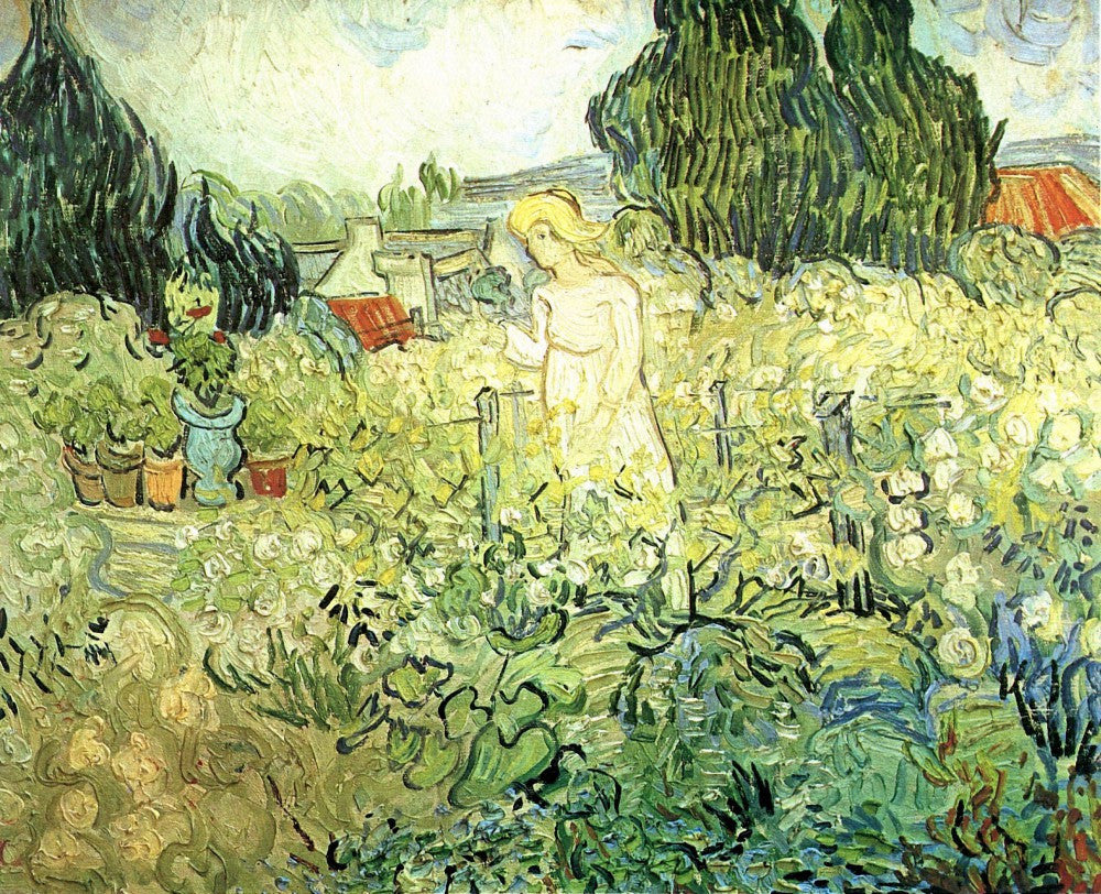 The Museum Outlet - Marguerite Gachet in her garden by Van Gogh