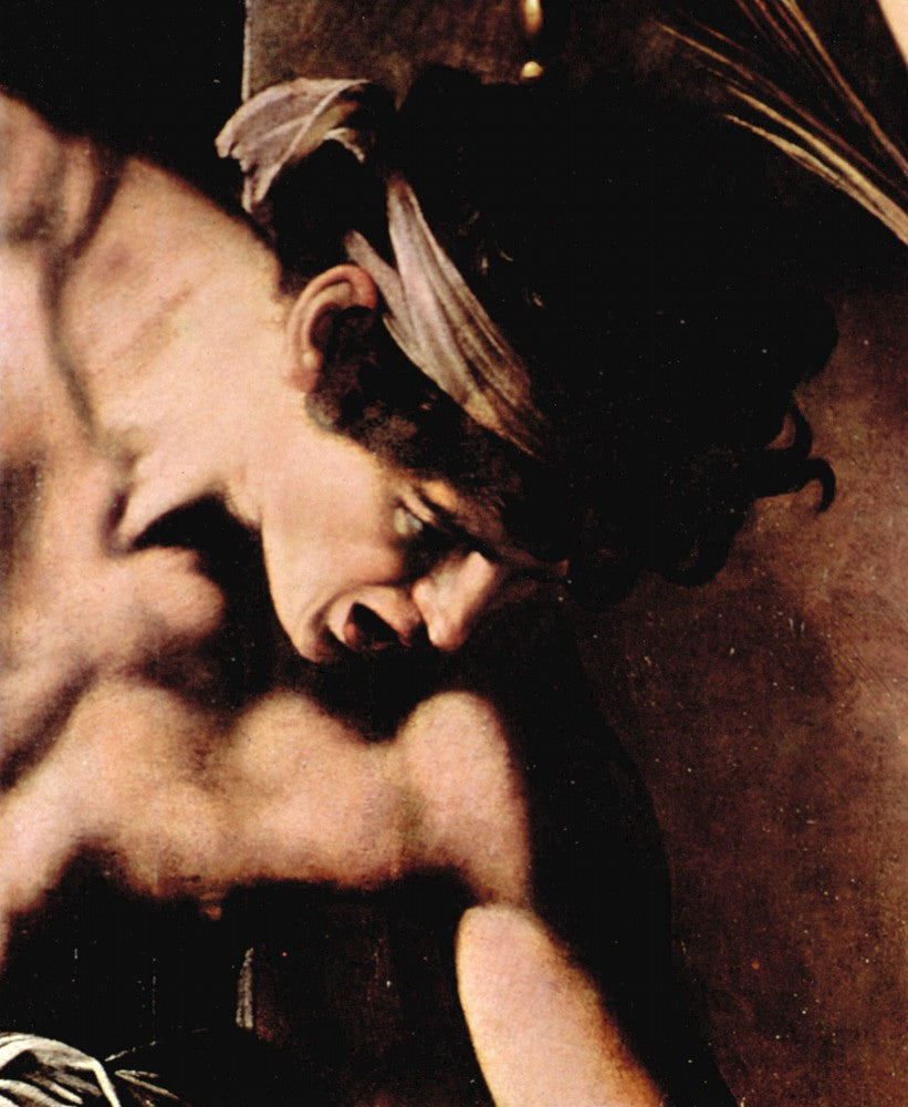The Museum Outlet - Martyrdom of St. Matthew detail by Caravaggio