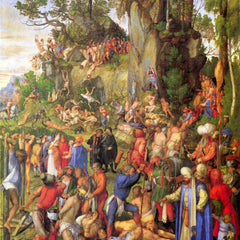 The Museum Outlet - Martyrdom of ten thousand Christians [1] by Durer