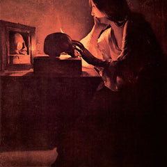 The Museum Outlet - Mary Magdalene [1] by La Tour