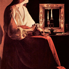 The Museum Outlet - Mary Magdalene [3] by La Tour