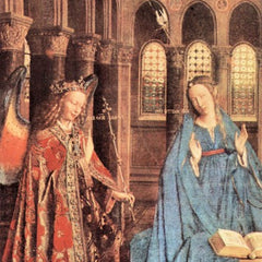The Museum Outlet - Mary's Proclamation by Jan Van Eyck