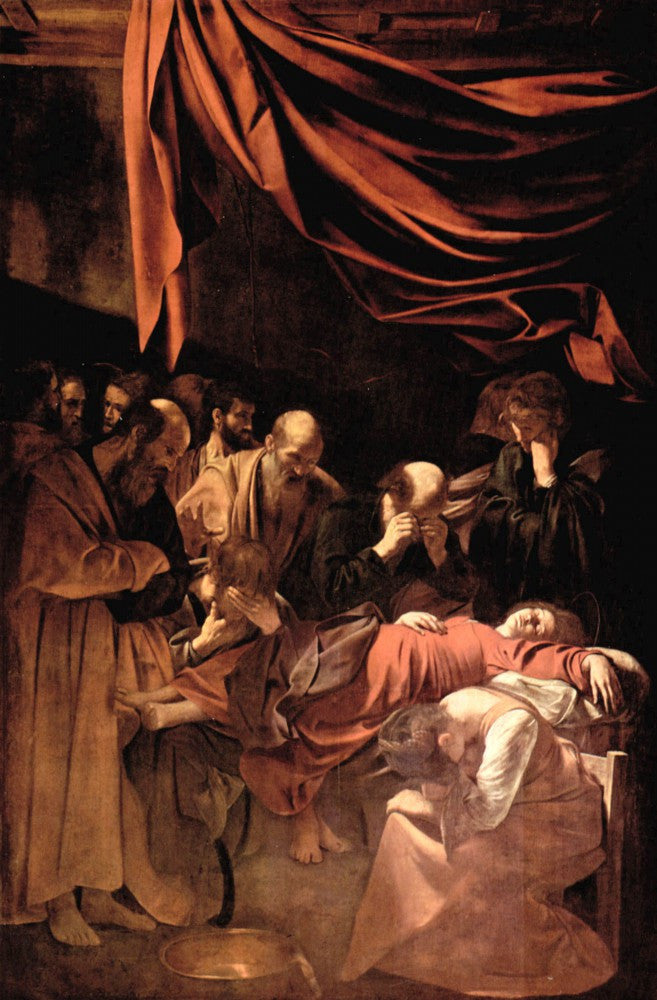 The Museum Outlet - Mary's death by Caravaggio