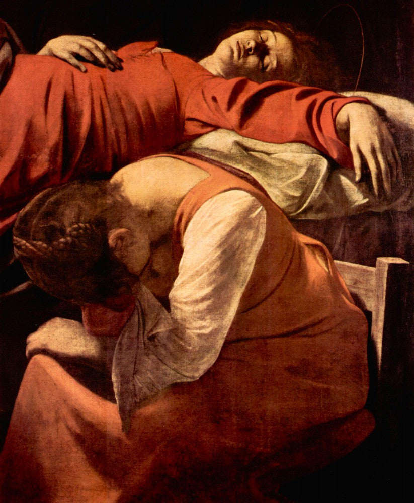 The Museum Outlet - Mary's death detail by Caravaggio