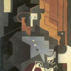 The Museum Outlet - Men from the Tourraine by Juan Gris