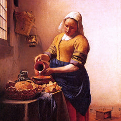 The Museum Outlet - Milk maid by Vermeer