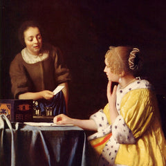 The Museum Outlet - Mistress and maid by Vermeer