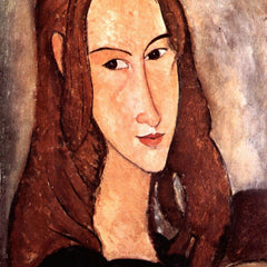 The Museum Outlet - Modigliani - Portrait of Jeanne Hebuterne, profile