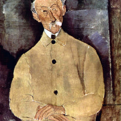 The Museum Outlet - Modigliani - Portrait of Mr. Lepoutre