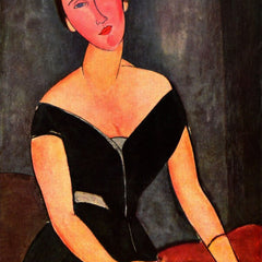 The Museum Outlet - Modigliani - Portrait of Mrs van Muyden