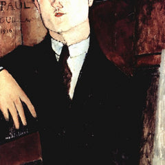 The Museum Outlet - Modigliani - Portrait of Paul Guillaume