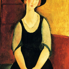 The Museum Outlet - Modigliani - Portrait of Thora Klinckowstroem