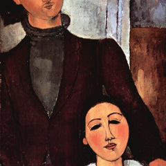 The Museum Outlet - Modigliani - Portrait of the married couple Lipchitz